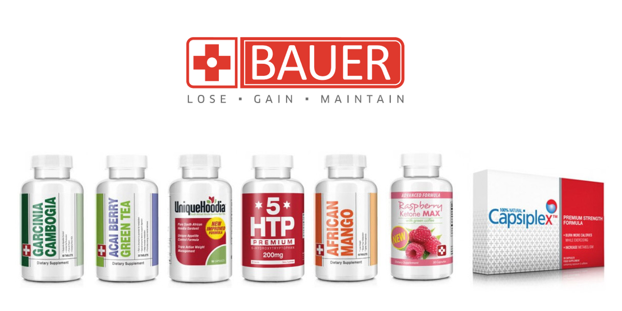 Bauer Nutrition | Effective Weight Loss & Health Supplements