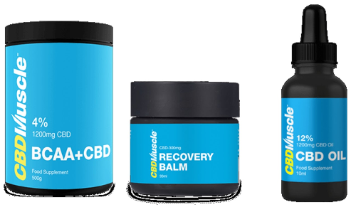 CBD Muscle | Post Workout Strength & Muscle Recovery Supplement